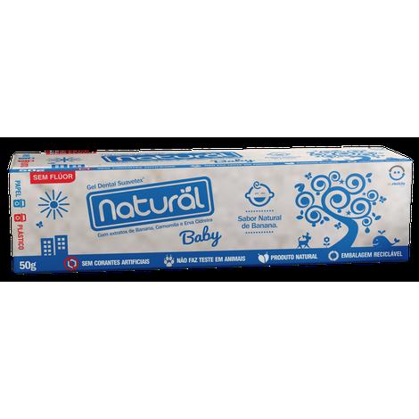 Gel dental natural Baby - Orgânicos natural