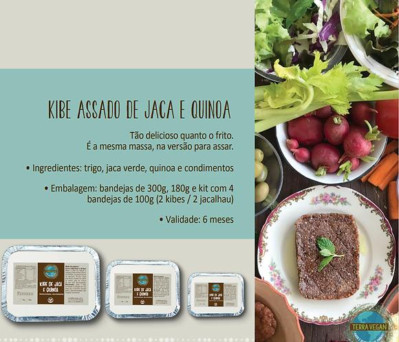 Kibe de Jaca de Quinoa p/ assar  -  Terra Vegan