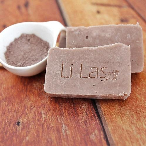 Sabonete argila roxa - Li Las