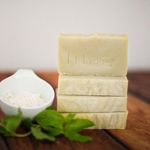 Sabonete argila branca - Li Las