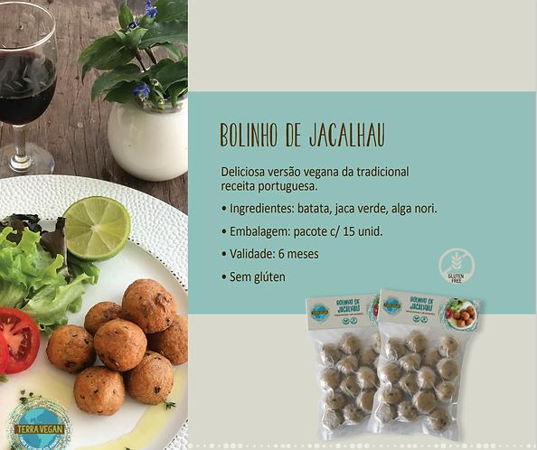 Bolinho de Jacalhau  -  Terra Vegan