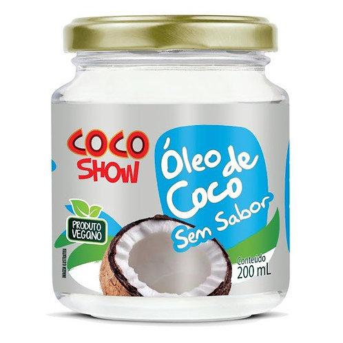 Óleo de Coco sem sabor Coco show - Copra