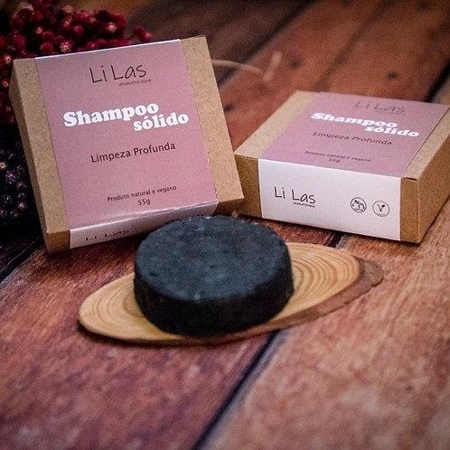 Shampoo sólido Limpeza profunda - Li Las