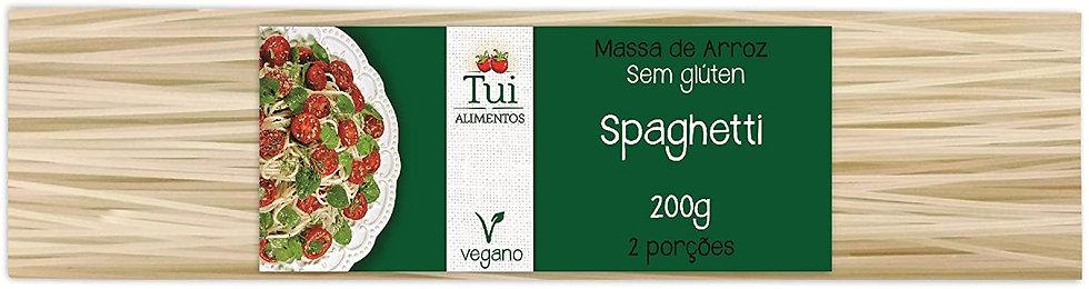Macarrão de Arroz Espaguete - Tui Alimentos