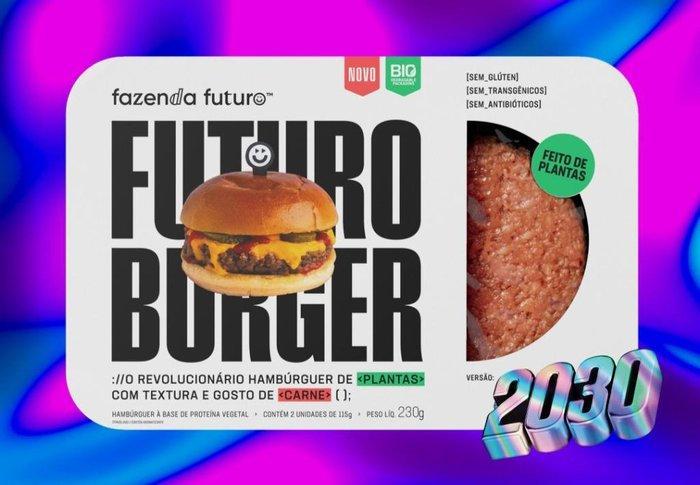Hambúrguer vegetal plantas Fazenda Futuro 2x115g