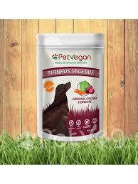 Bifinho Vegetais - Cenoura, Beterraba e Espinafre  - PetVegan