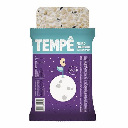 Tempê de feijão fradinho com arroz negro - MuN Artesanal
