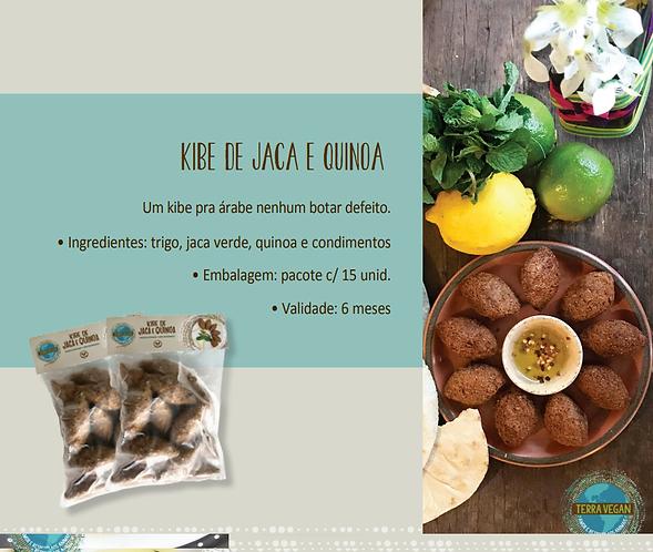 Kibe de jaca e quinoa  -  Terra Vegan