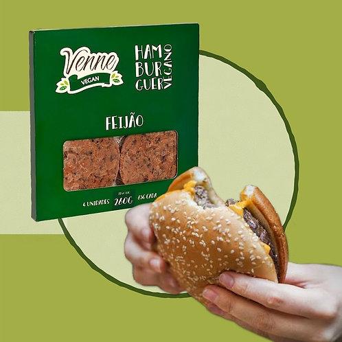 Hambúrguer de feijão - Venne