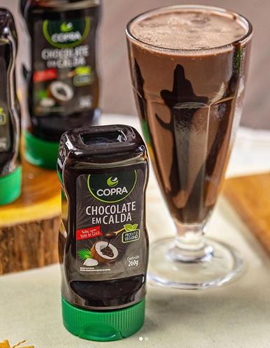 Chocolate em calda - Copra