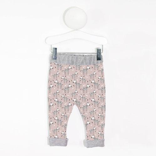Sample pink zebra leggings