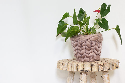 Medium Knitted Plant Pot