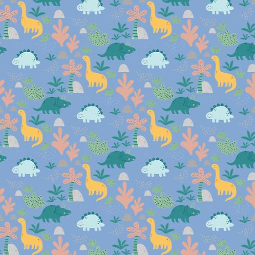 Blue dinosaur hat
