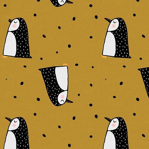 Mustard Zebra knot tie dress