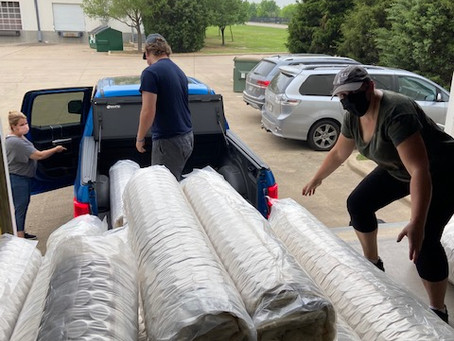 Mattress Donation from The Church of Jesus Christ of Latter-day Saints Humanitarian Services