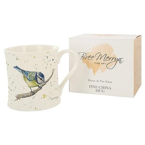 Bree Merryn Betty Bluetit mug