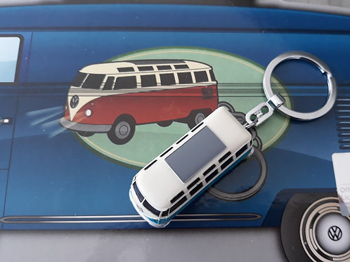 VW Blue Camper keyring torch
