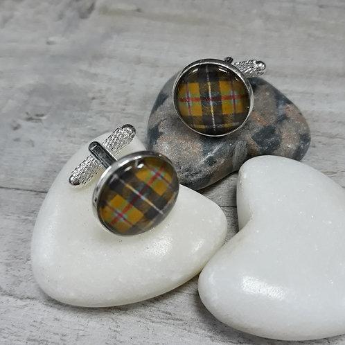 Cornish Tartan cufflinks