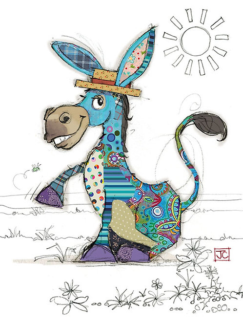 Diego Donkey card from BugArt