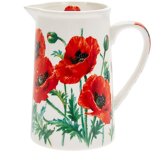 Wild Poppy jug