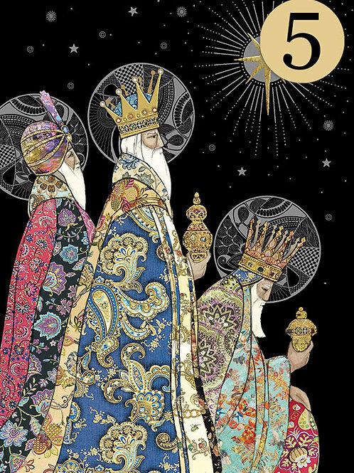 Three Kings cards, 5 pack