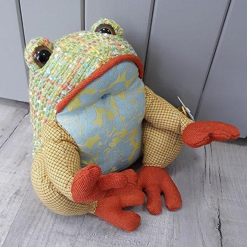 Dora Design Patchwork Toad Doorstop