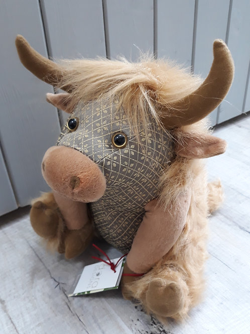 Dora Design Angus Highland Cow Doorstop