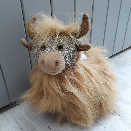 Dora Design Fergus the highland cow doorstop