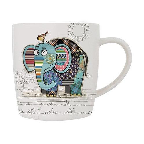 Bug Art Eric Elephant Mug