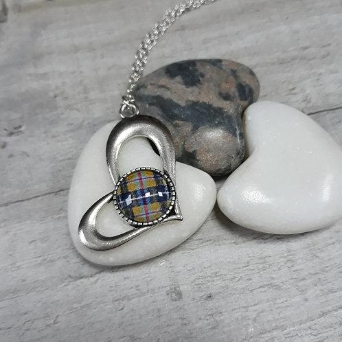 Cornish Tartan necklace