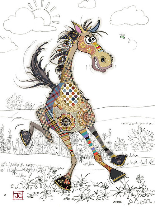 Herbie Horse card from BugArt