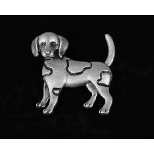 Natural World dog pin