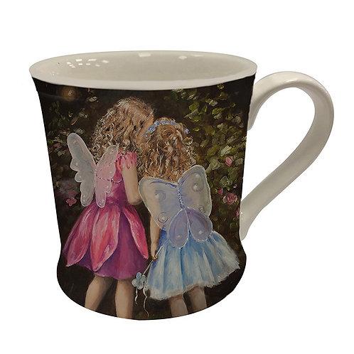 Bree Merryn Believe fairies mug