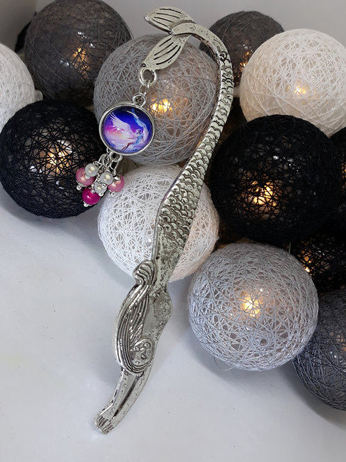Mermaid bookmark with fairy