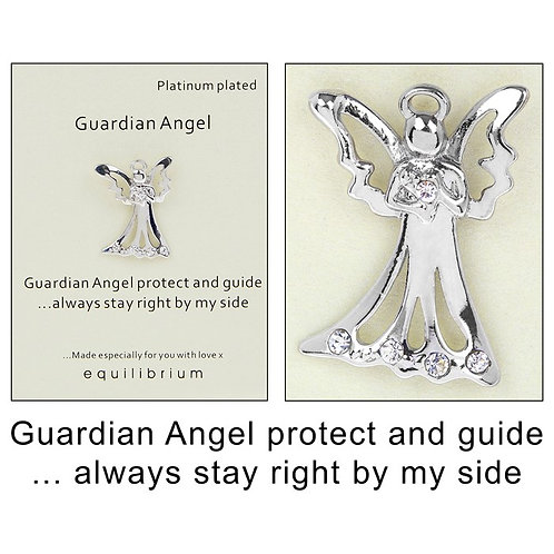 Guardian Angel pin from Equilibrium