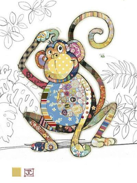 Monty Monkey card