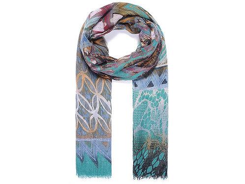 Multi coloured scarf