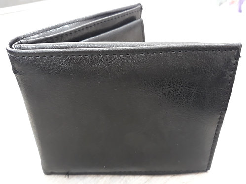 Brown wallet with coin section