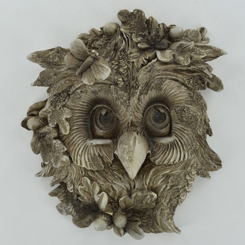 Woodland wall plaque with Owl