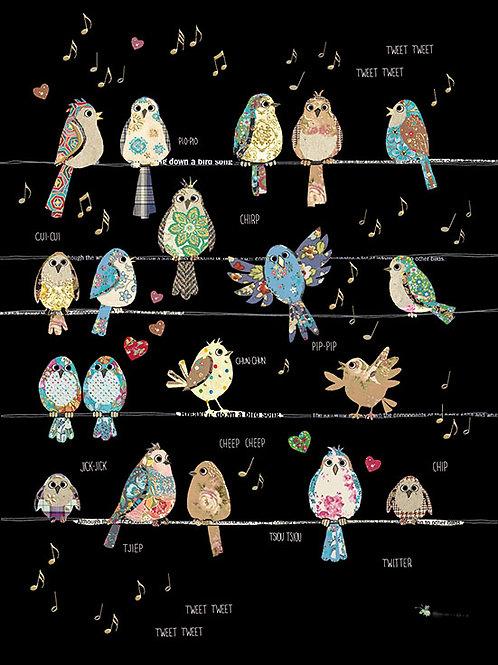 Bird Tweets card