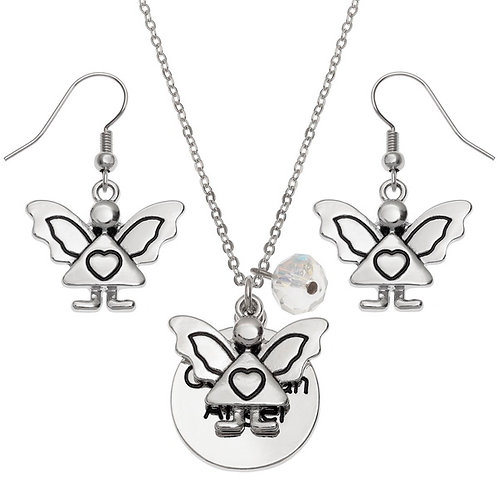 Guardian Angel jewellery set