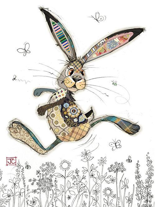 Hasper Hare cardby BugArt