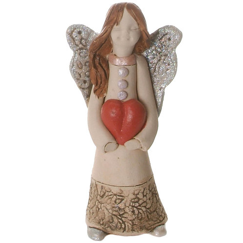 Guardian of Love with silver wings