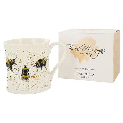 Bree Merryn Bee happy Mug