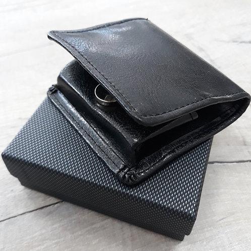 Black coin purse