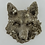 Thumbnail: Woodland wall plaque with wolf