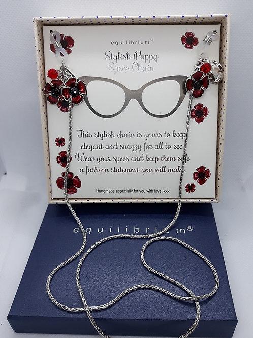 Stylish Poppy Specs chain