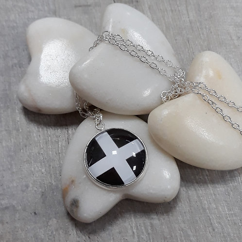 Cornish Flag necklace