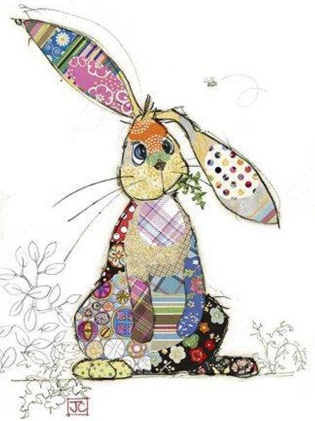 Binky Bunny card from Bug Art