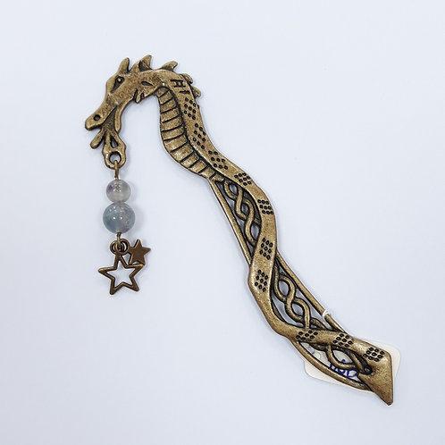 Dragon Bookmark with stars